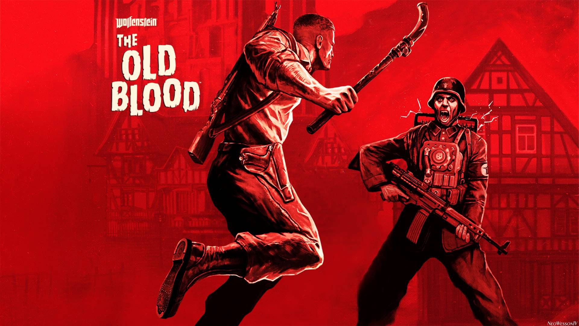 Обложка игры Wolfenstein: The Old Blood