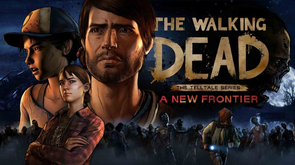 Обложка игры Walking Dead: A New Frontier
