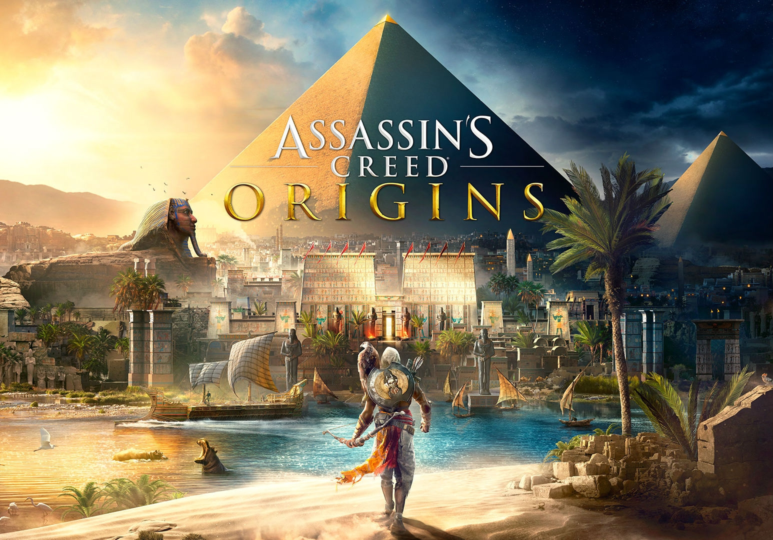 Обложка игры Assassin's Creed: Origins