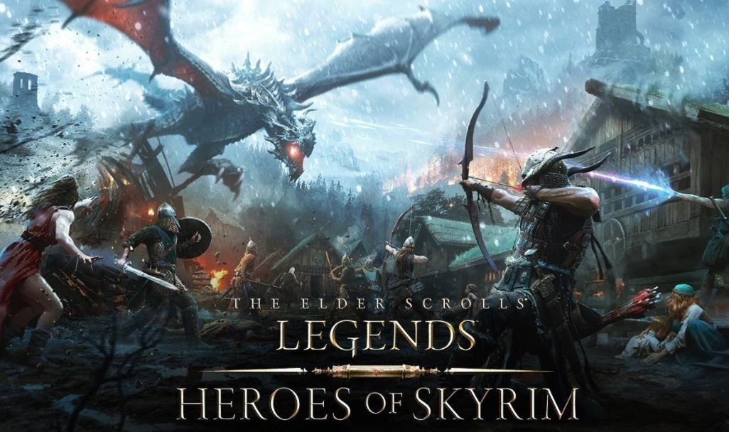 Обложка игры Elder Scrolls: Legends - Heroes of Skyrim, The