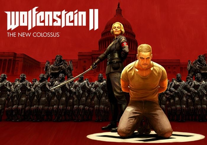 Скриншоты из игры Wolfenstein II: The New Colossus (Nintendo Switch)