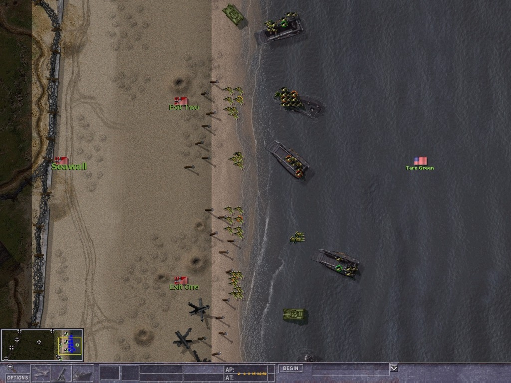 Скриншот из игры Close Combat 5 Invasion Normandy под номером 2. p