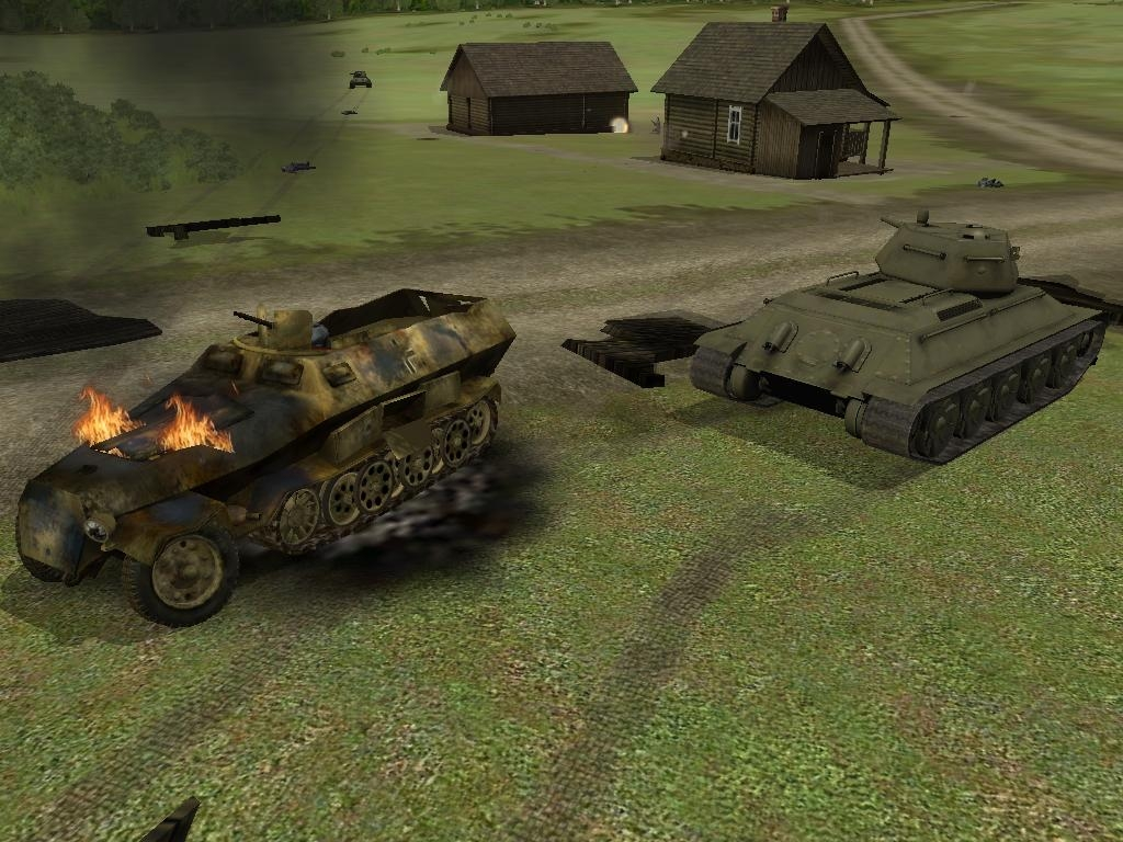 Wwii battle tanks: t -34 vs. Tiger free download « igggames.