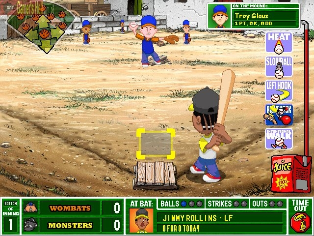 Backyard Baseball 2003 Cheats