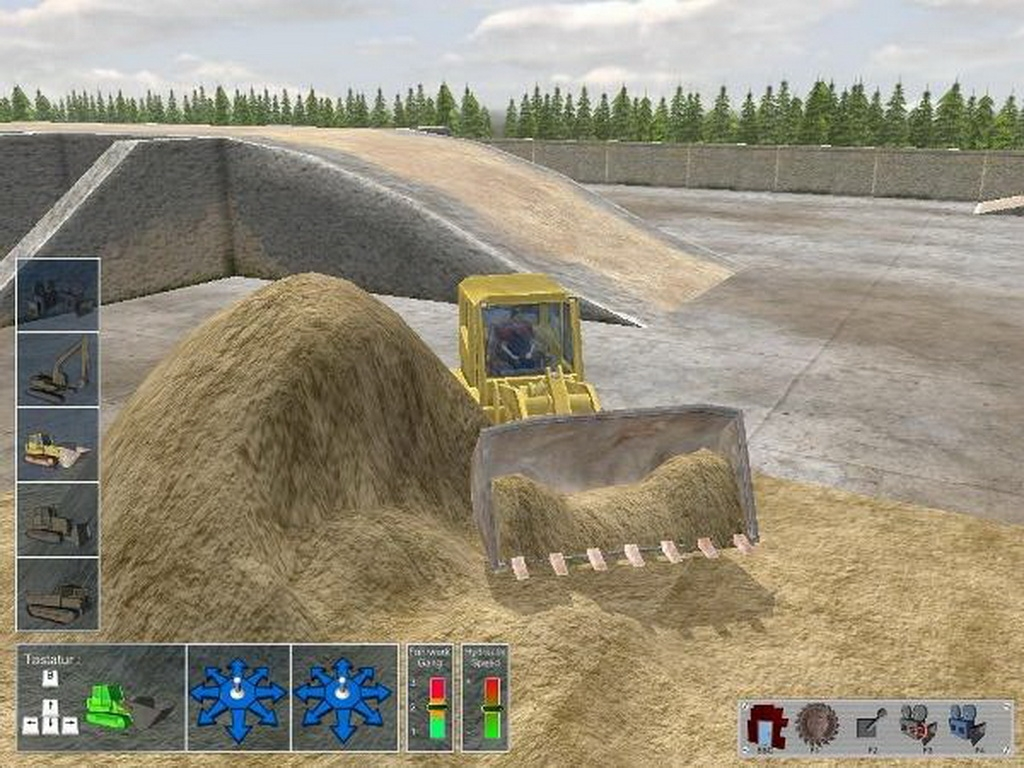 Bagger-Simulator 2008 Русификатор