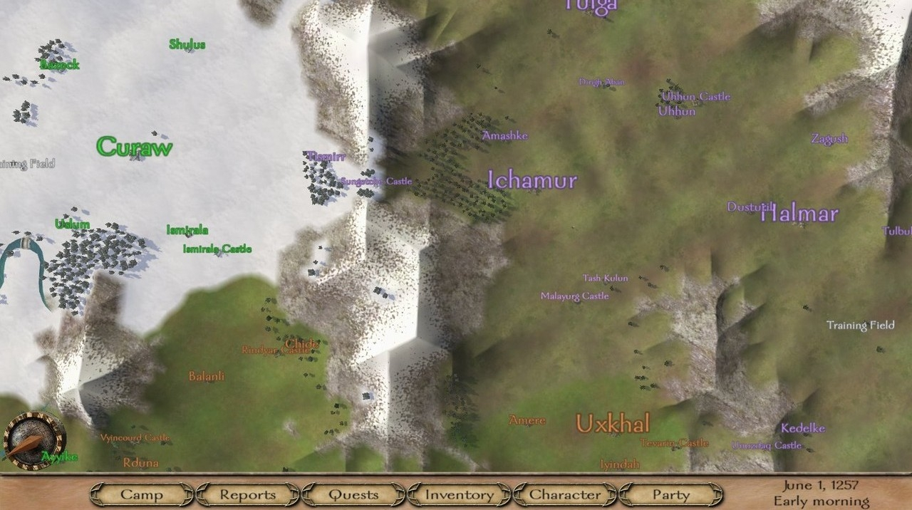 MOD Custom Settlements for warband » Все о Mount and