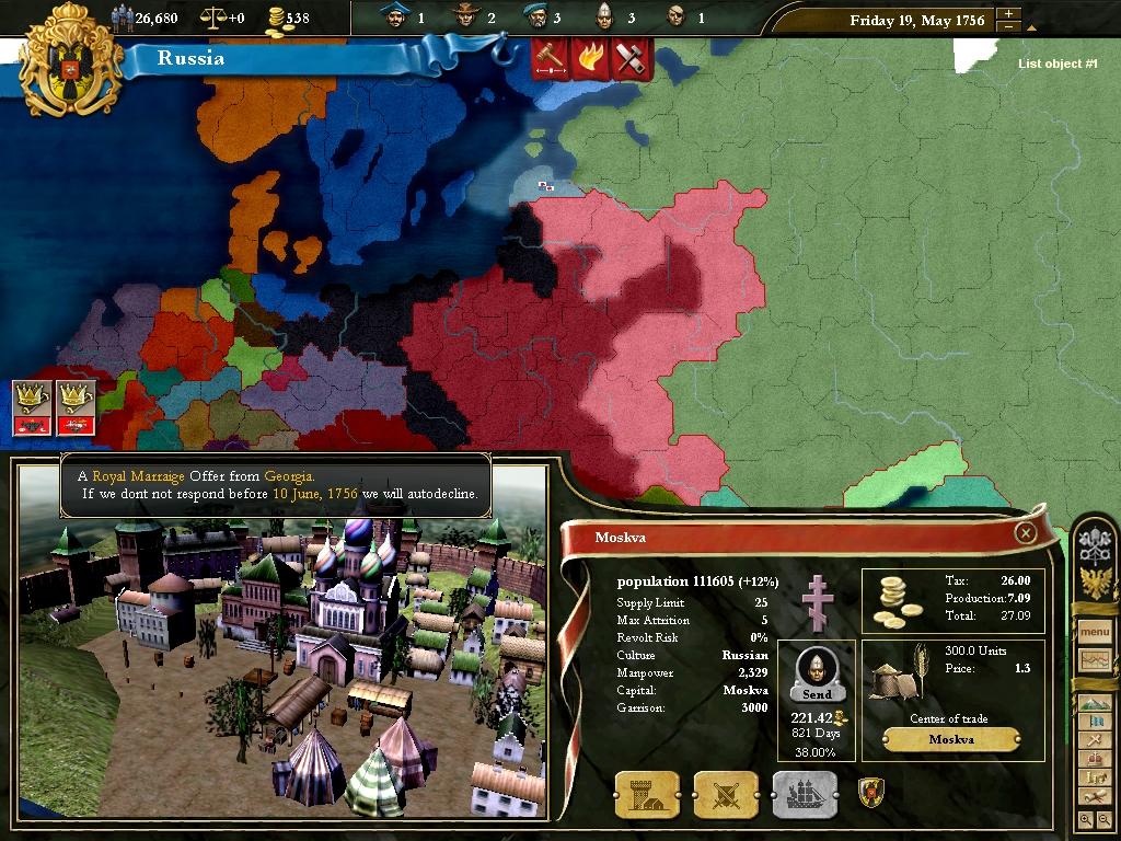 Чит-Коды К Игре Европа 3