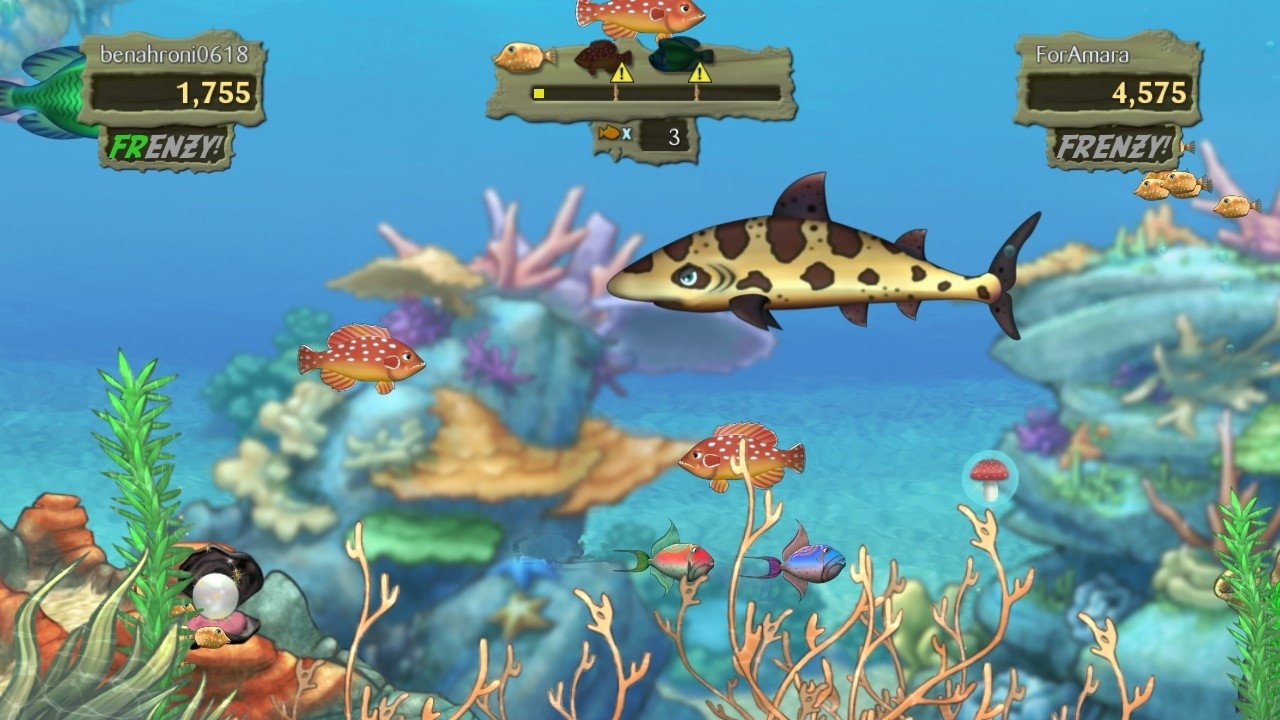 Скриншот из игры Feeding Frenzy 2 Shipwreck Showdown под номером 17