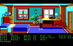 Скриншот из игры Zak McKracken and the Alien Mindbenders под номером 1