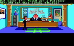 Скриншот из игры Zak McKracken and the Alien Mindbenders под номером 2