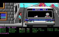 Скриншот из игры Zak McKracken and the Alien Mindbenders под номером 4