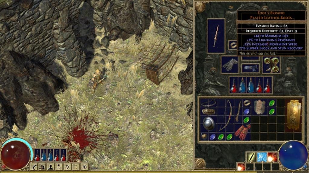 Смотреть полную версию скриншота из игры Path of Exile.