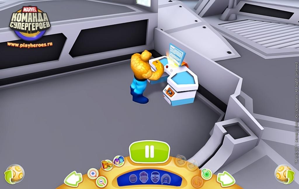 Скриншот из игры marvel super hero squad online под