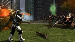 Скриншот из игры Earth Defense Force: Insect Armageddon