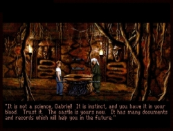 Скриншот из игры Gabriel Knight: Sins of the Fathers 