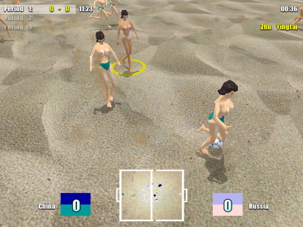 Скачать торрент Спорт (игры) XXXtreme Beach Soccer (2003) PC бесплатно
