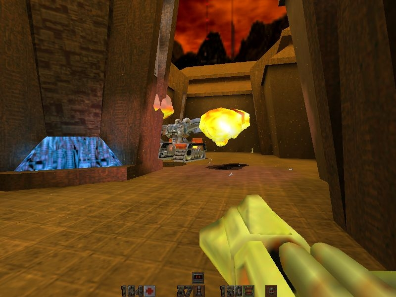 Screen ze hry quake ii mission pack: the reckoning