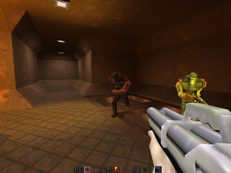 Скриншоты игры quake 2 mission pack 1: the reckoning (1998) pc rus