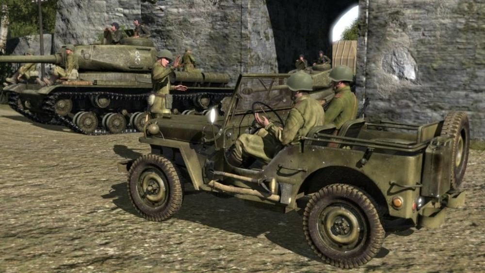 Скриншот из игры Iron Front: Liberation 1944 под номером 5. Кликните на мин
