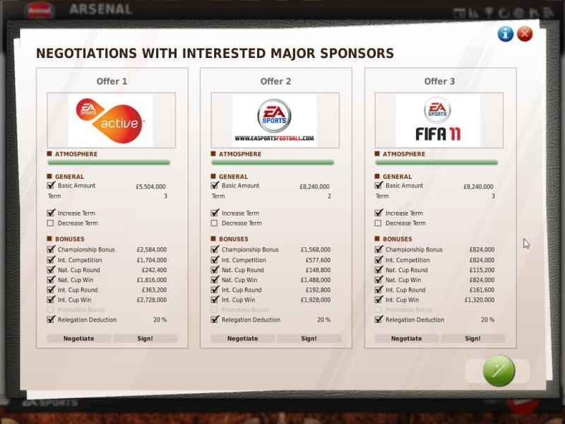 Fifa manager 11 деньги для личной жизни