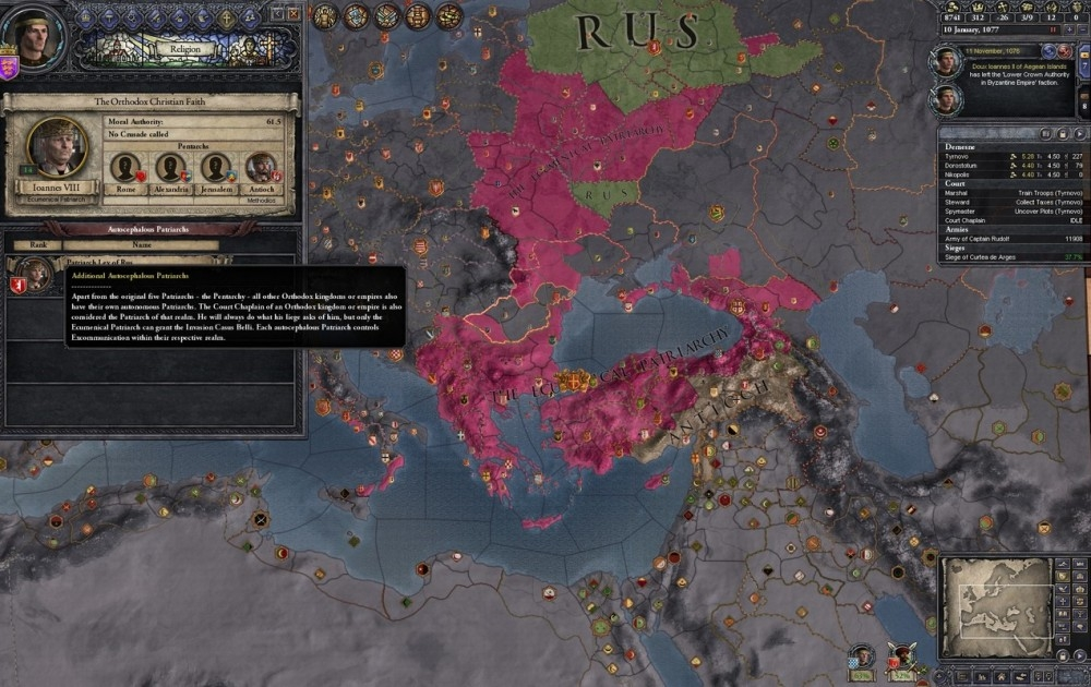 Как создать религию в crusader kings 2