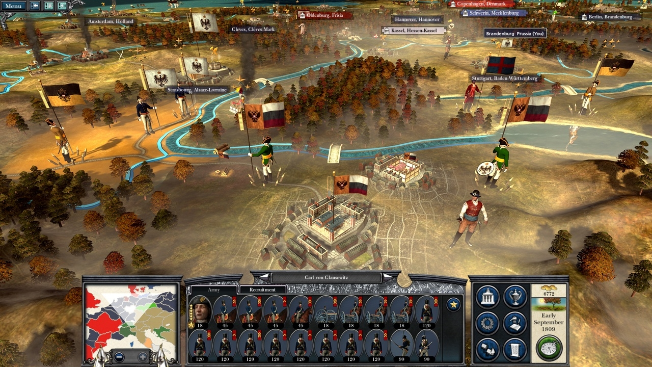 Napoleon: total war (abbreviated as ntw) is a turn-based strategy and real-time tactics published by