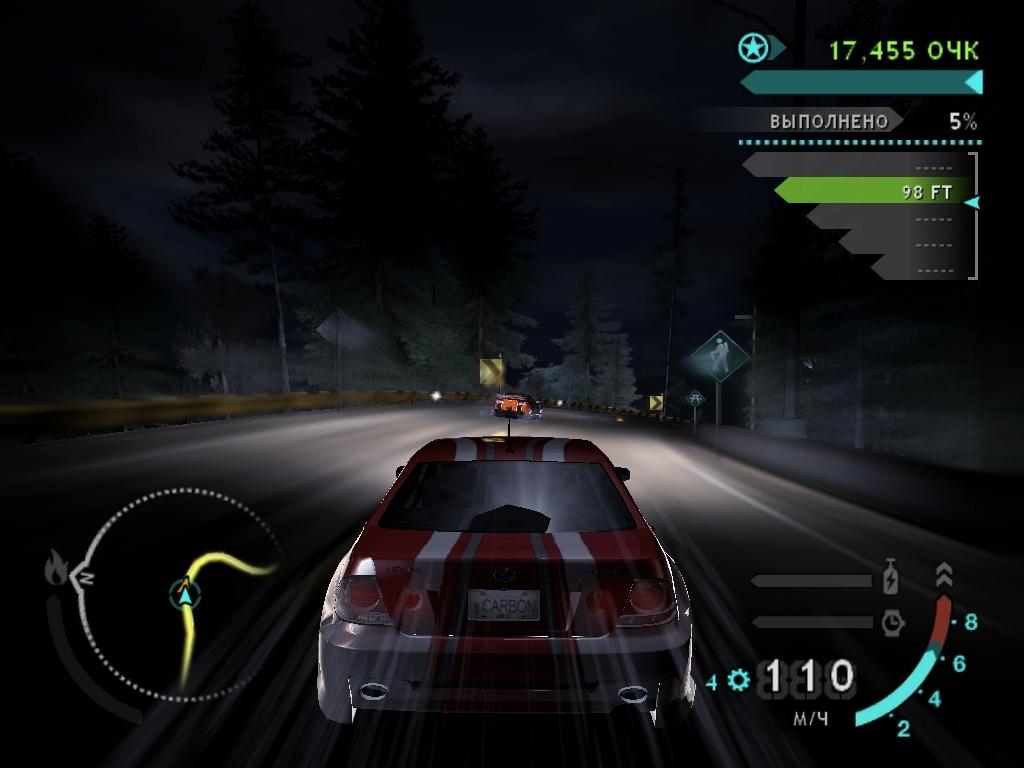 Текущий показываемый скриншот из игры strong em Need for Speed Carbon/em/st