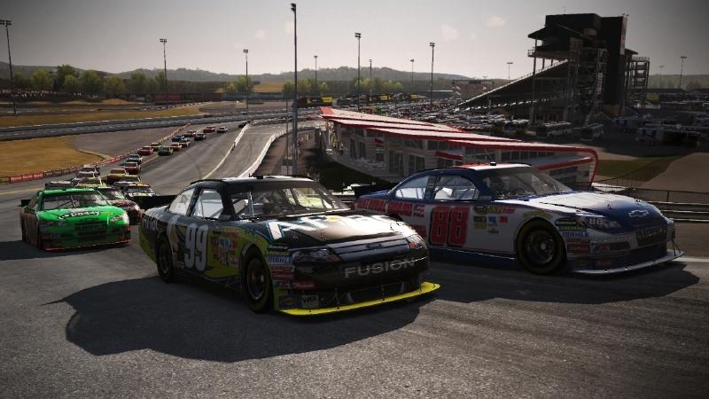 Скриншот из игры NASCAR The Game 2011 под номером 1