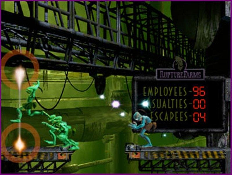 Игру На Ps1 Oddworld