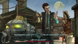 Скриншот из игры Tales from the Borderlands: Episode One - Zer0 Sum