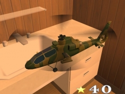 Скриншот из игры R and C Helicopter Indoor Flight Simulation