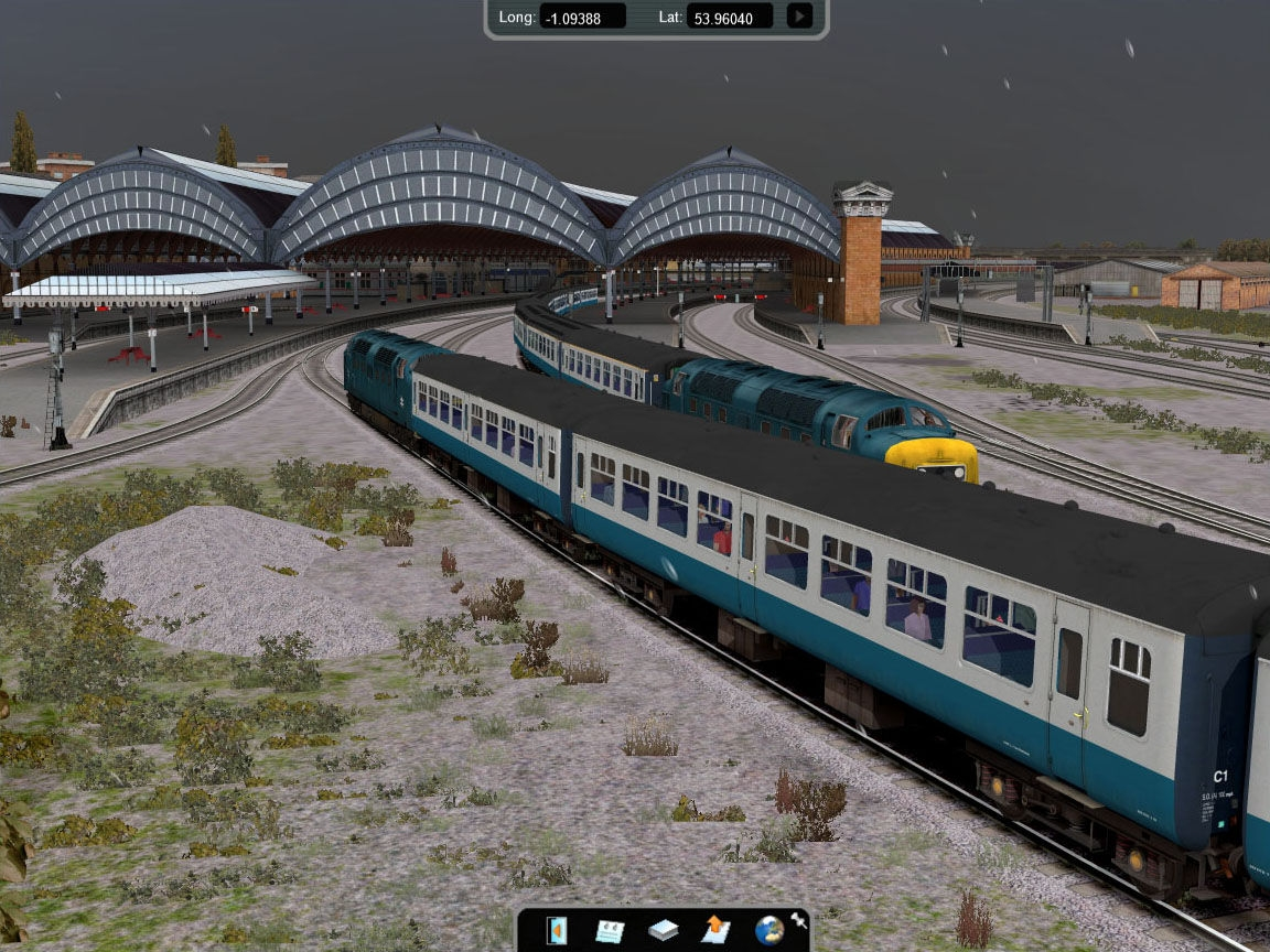 Rail Simulator (2008/PC/RUS) .