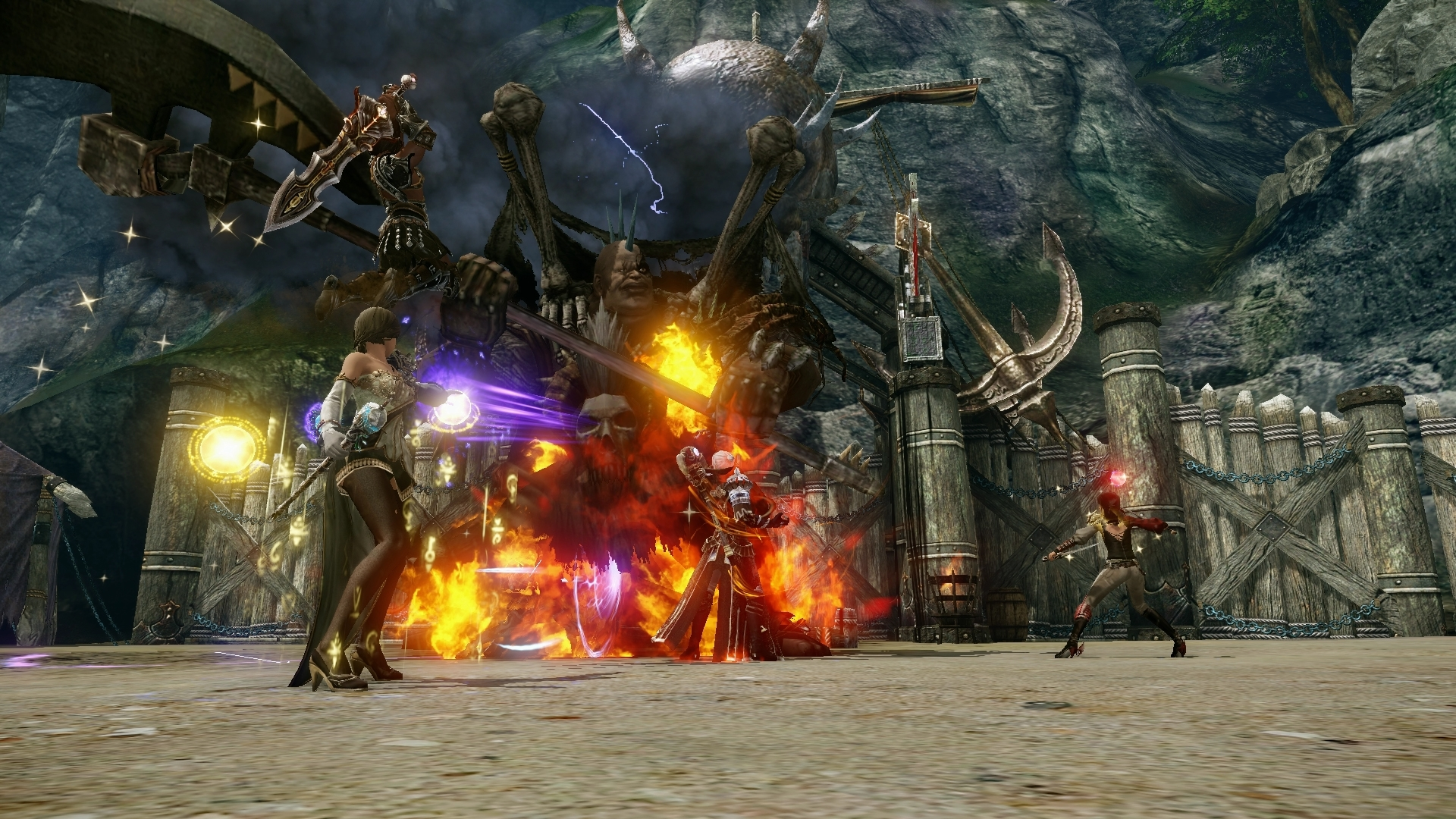 Icarus online игра