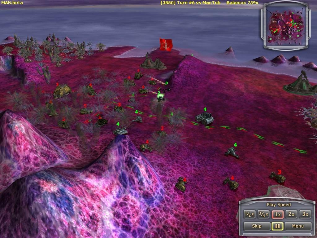 Скриншот из игры Massive Assault Network под номером 14.
