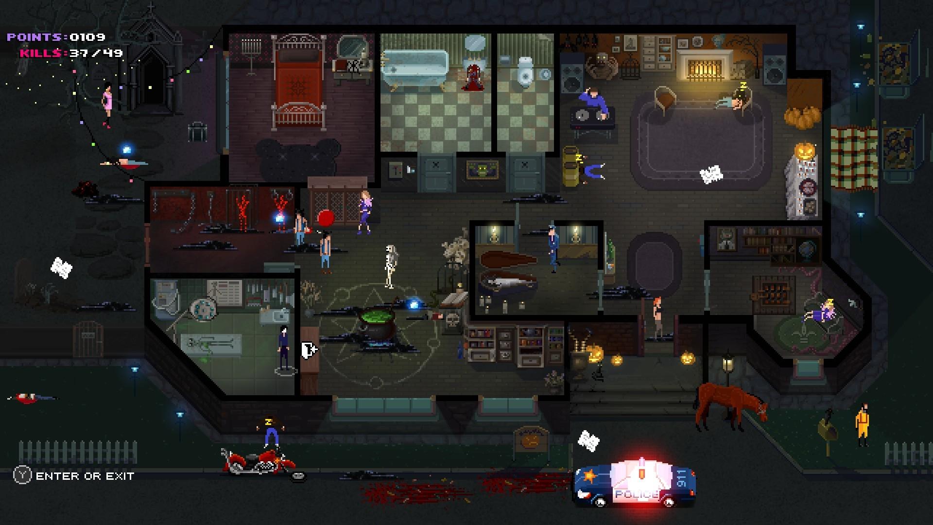 Party hard asesino juego