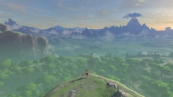 Скриншот из игры Legend of Zelda: Breath of the Wild, The