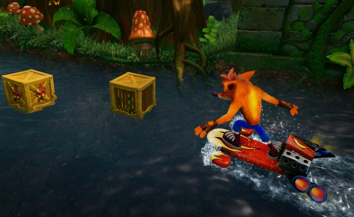 Скриншот из игры Crash Bandicoot N. Sane Trilogy под номером 9