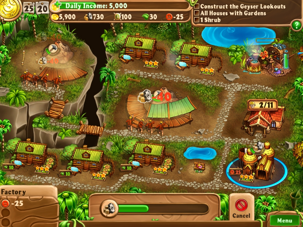 Скриншот из игры Campgrounds: The Endorus Expedition Collector