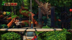 Скриншот из игры Donkey Kong Country: Tropical Freeze (Switch)