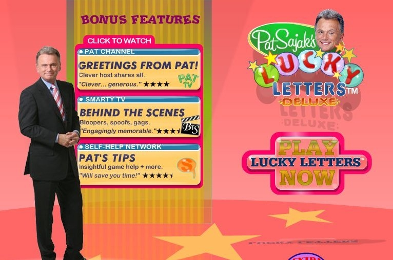 Скриншот из игры Pat Sajak's Lucky Letters Deluxe под ...