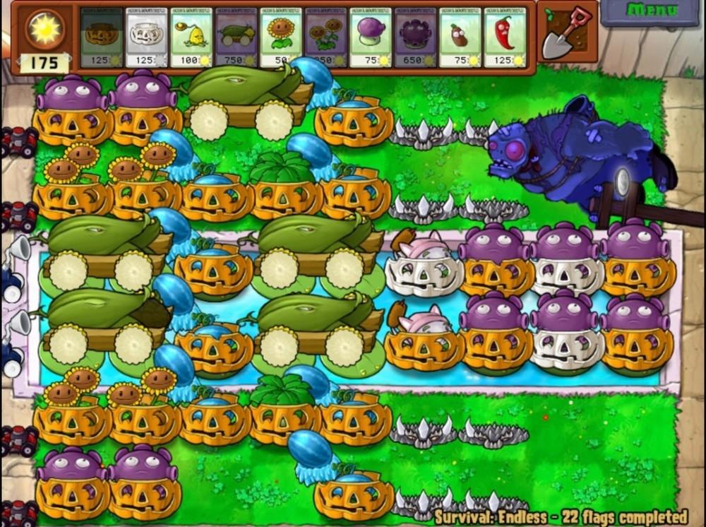 Скриншот из игры Plants vs. Zombies под номером 26. p strong Номер