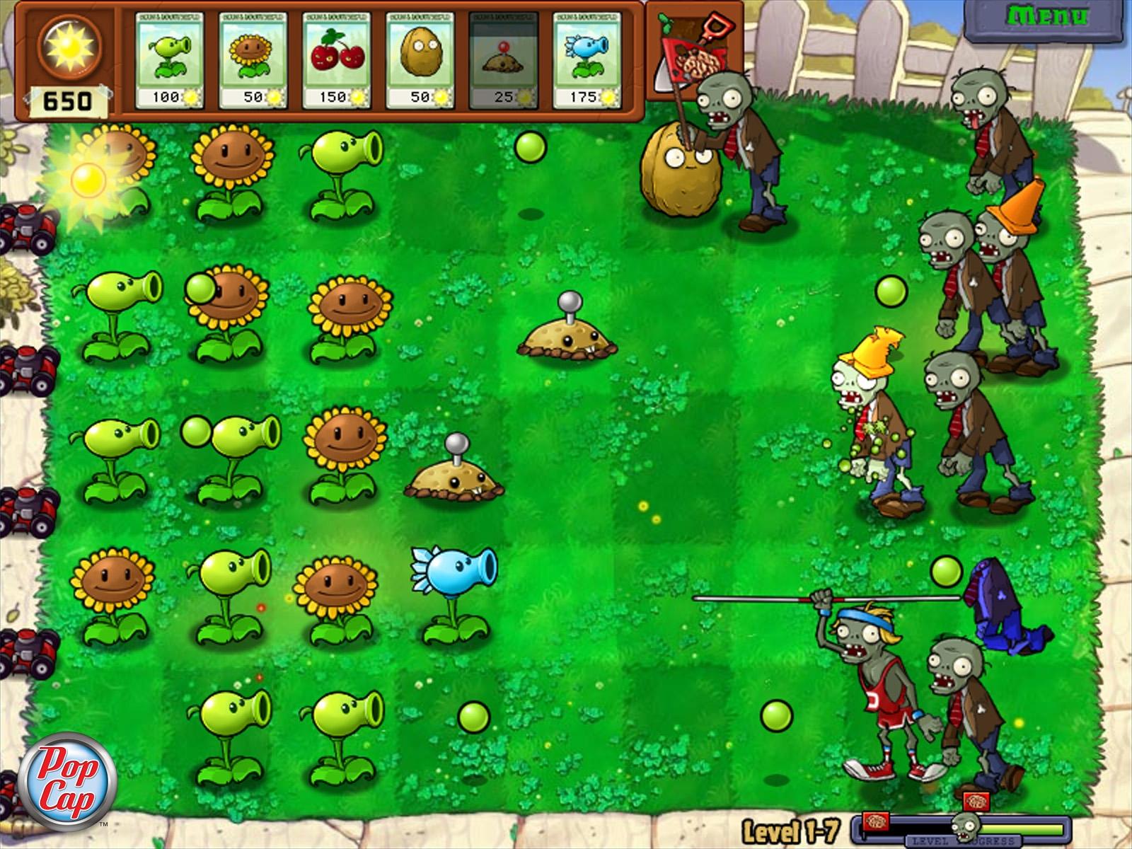 Plants vs zombies как сделать на русском