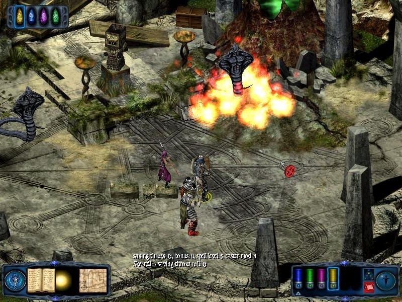 Текущий показываемый скриншот из игры strong em Pool of Radiance