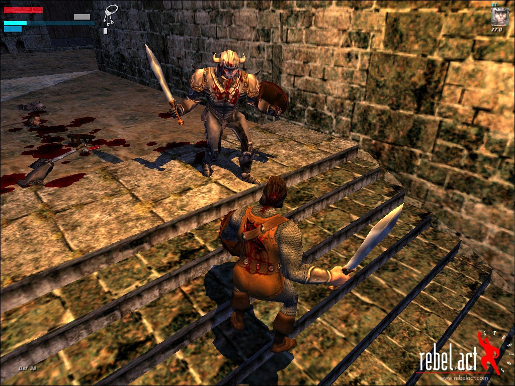 Скриншот из игры Severance: Blade of Darkness под номером 2. vkontakte.