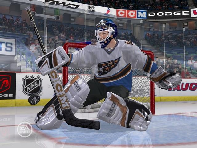 Скриншот NHL 07 под номером 6