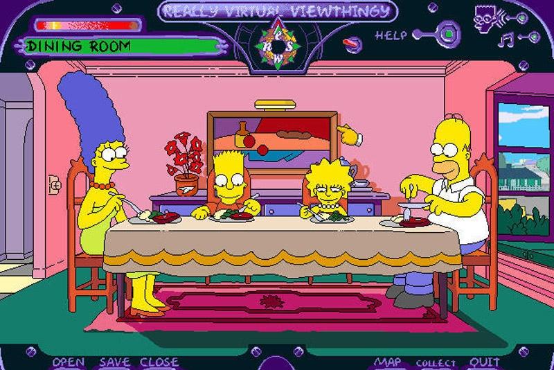 Simpsons virtual springfield the simpsons for Virtual springfield