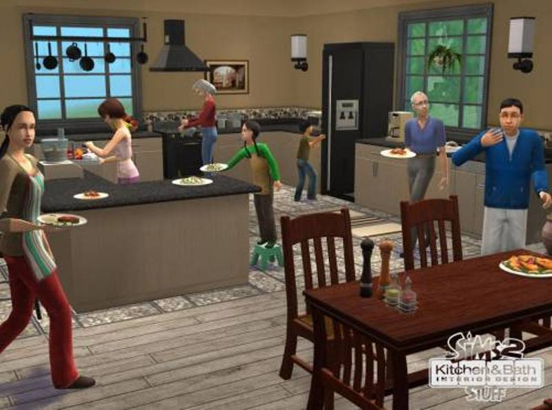 Interior designs for sims 3 joy studio design gallery for Sims 3 interior design kitchen