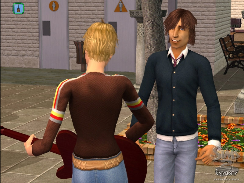 Online dating sims 3 university