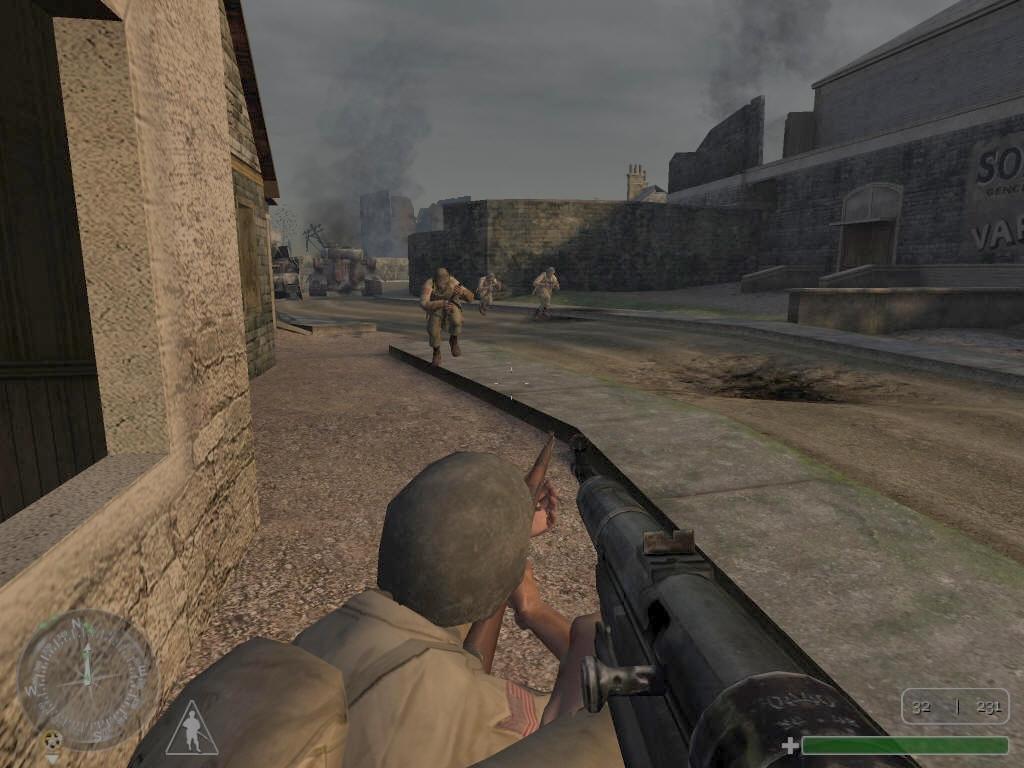 Скачать Call of Duty 2003 через торрент бесплатно  Игры