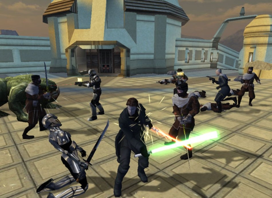 Смотреть полную версию скриншота из игры Star Wars: Knights of the Old